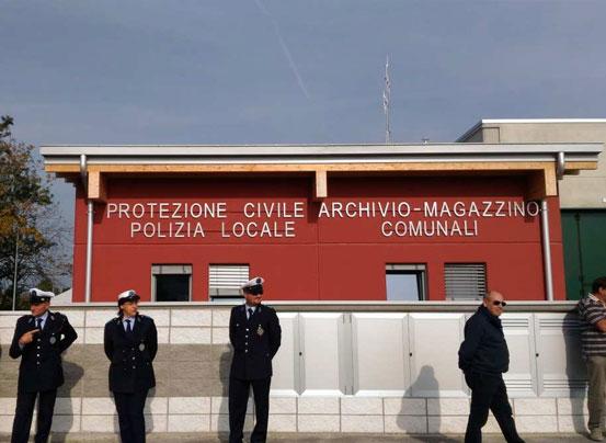 Nuovi uffici Polizia Municipale di Felino